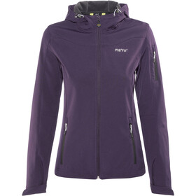 Meru Lahti Softshelljakke Damer, purple